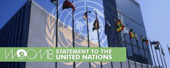 Billings Statement to the General Assembly of the United Nations